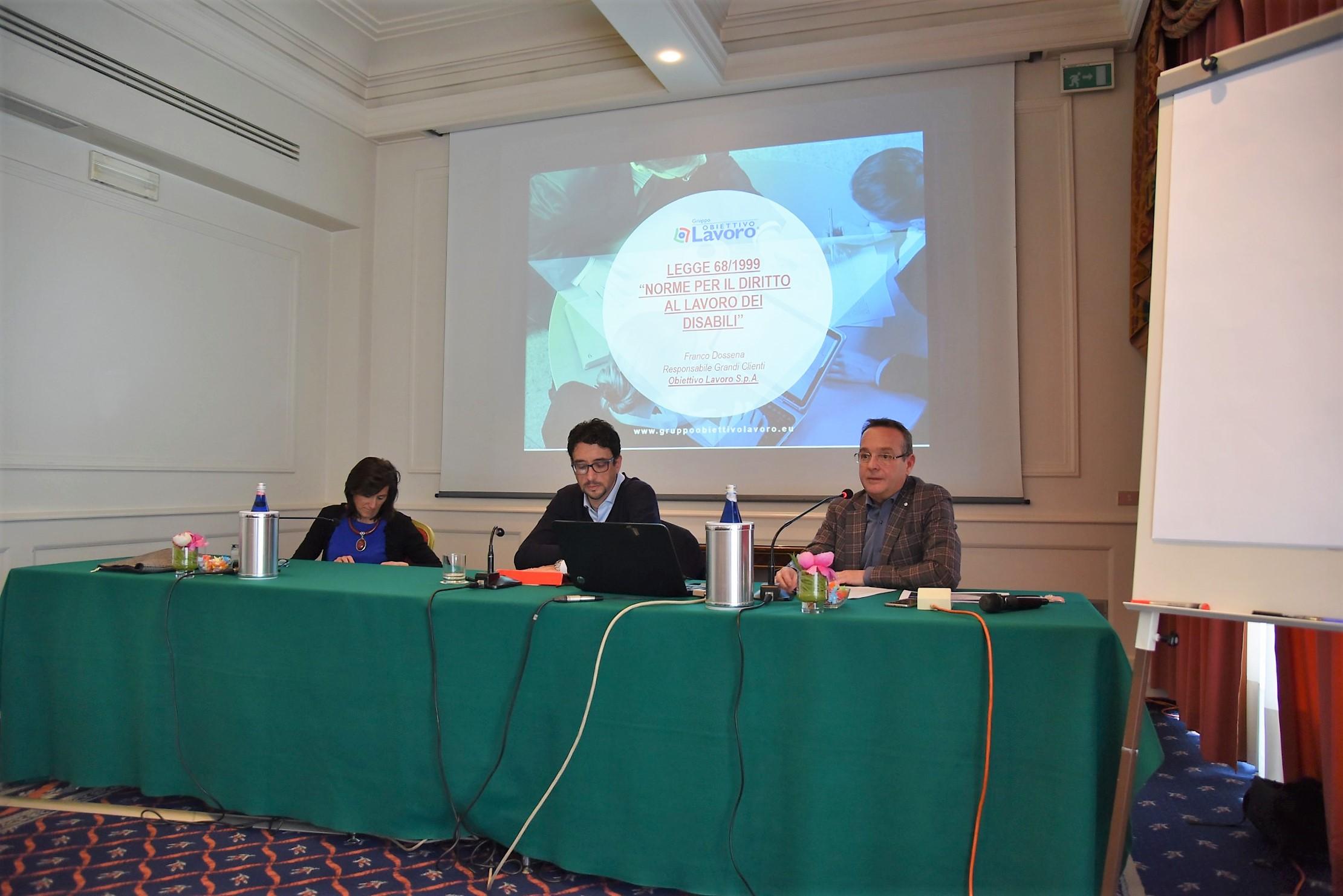 Elena Gaiani, Alberto Garnero, Franco Dossena