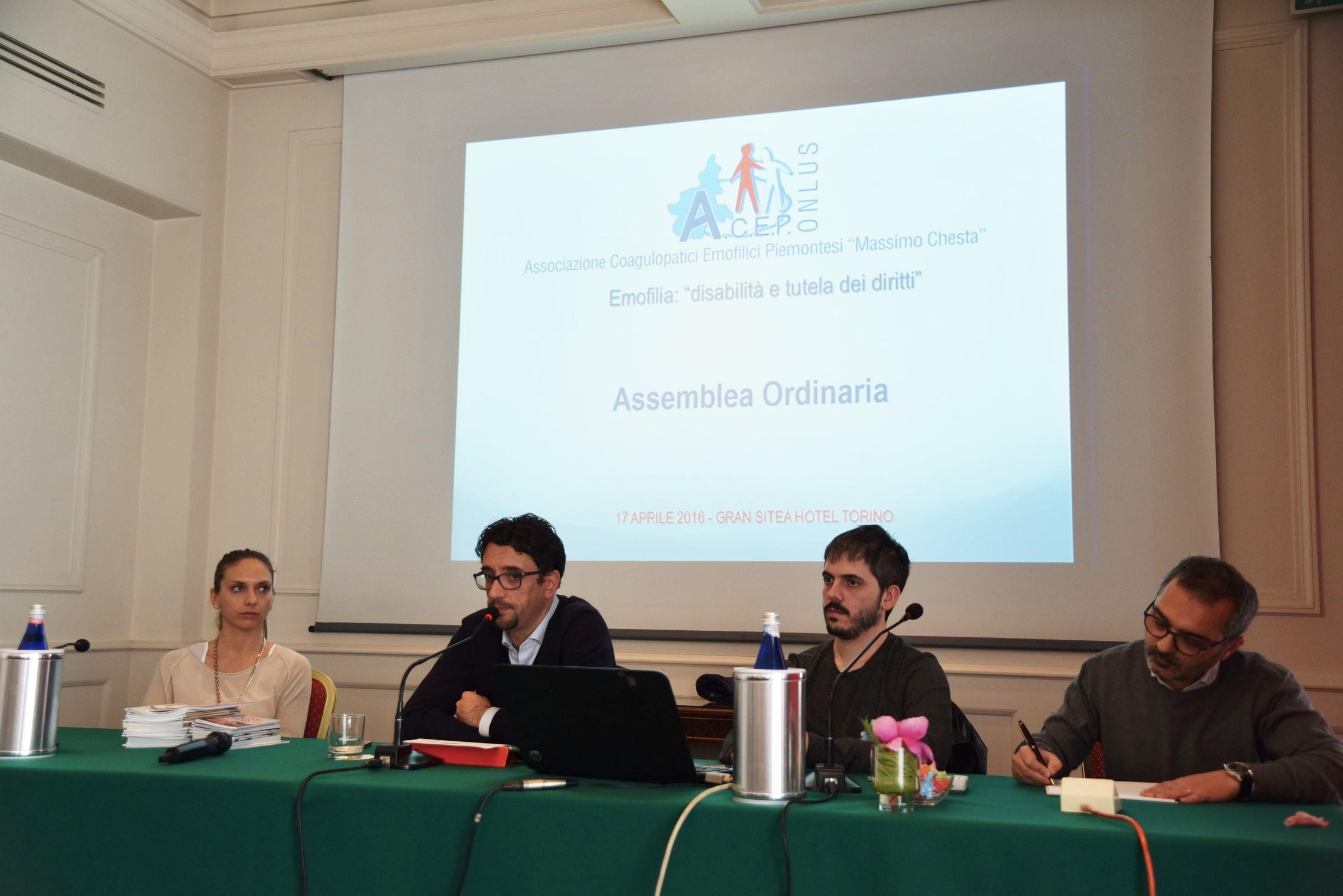 Eleonora Forneris, Alberto Garnero, Alessandro Bertola, Mario Serra