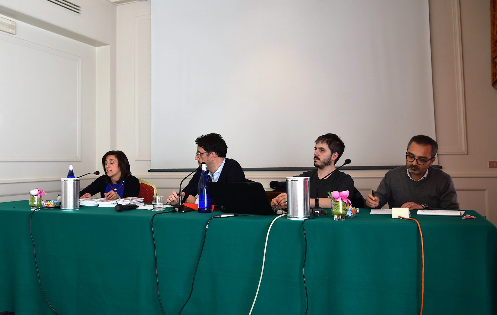 Elena Gaiani, Alberto Garnero, Alessandro Bertola, Mario Serra